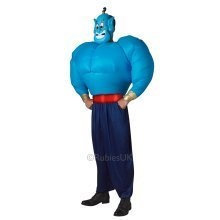 Genie Inflatable Torso Aladdin Fancy Dress Costume