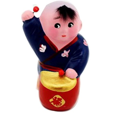 China Style Gift Ornament Crafts Ornaments  Clay Figurines Clay Sculpture Crafts