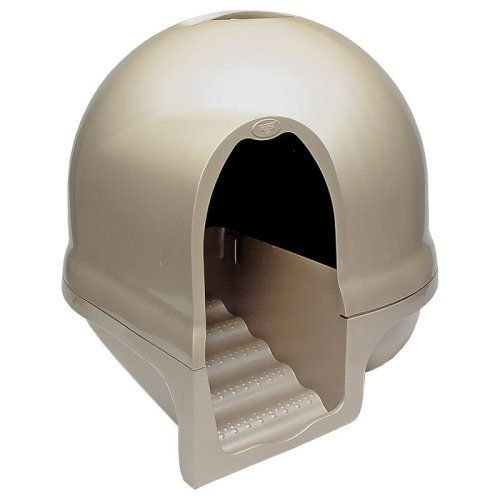 Cleanstep Cat Litter Box Dome Design 3 FREE Carbon Filters