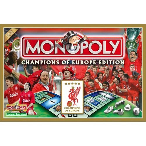 Liverpool Champions of Europe Edition Monopoly Family Board Game Brand New Sealed