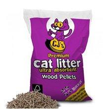 Cj's Premium Cat Litter 15 Litre