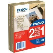 Epson Premium Glossy Photo Paper - (2 for 1), 100 x 150 mm, 255g/m2, 80 Sheets photo paper