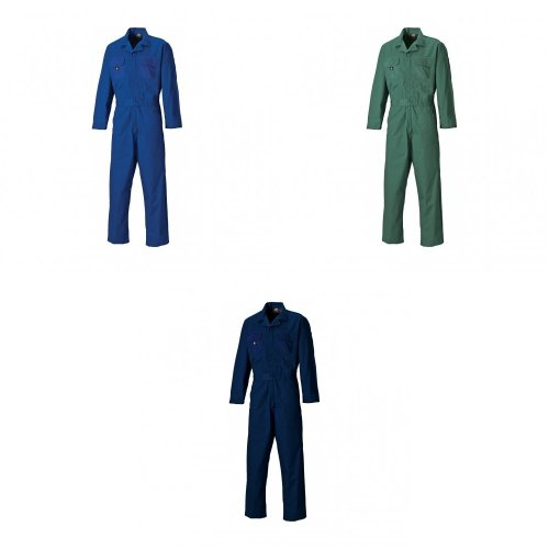 Dickies Mens Redhawk Stud Front Overalls/Coverall