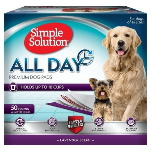 Simple Solution All Day Premium Dog Pads (Pack Of 50)