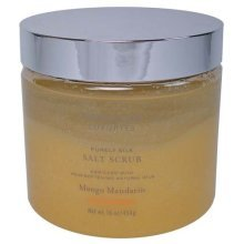 Bath & Body Works Luxuries Purely Silk Mango Mandarin Salt Scrub 16 oz