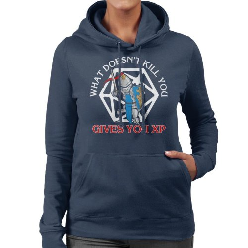 What Doesnt Kill You Gives You XP Women's Hooded Sweatshirt