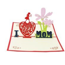 Mother's Day Creative 3D Postcard/ Greeting Cards/ Congratulation Cards