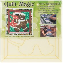 Gingerbread Man Quilt Magic Kit-Gingerbread