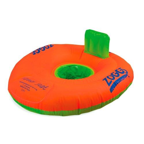 Swim Trainer Seat Orange/Green 3-12 months