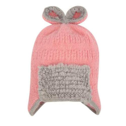 Winter Cute Kid Beanie Hat Warm Children Beanie Cap Ear Warmer, B