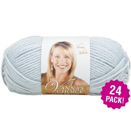 Lion Brand Vanna's Choice Yarn - 24/Pk-Silver Blue