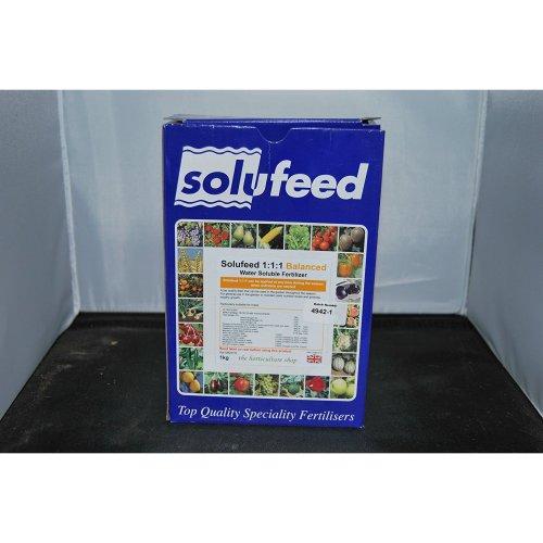 Solufeed 1:1:1 Balanced Water Soluble Fertiliser,Veg, Roses, fruit etc