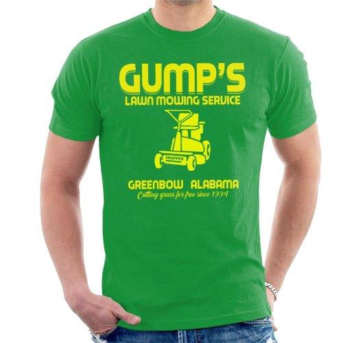 Gumps Lawn Mowing Service Forrest Gump Men's T-Shirt