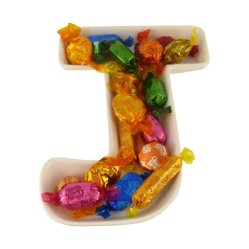 J Alphabet Dish