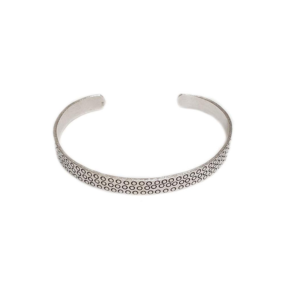 191bdfb983a ... FAB Womens 925 Sterling Silver Bangle Bracelet - 1 ...
