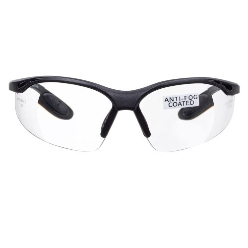 voltX 'Constructor' SAFETY READERS (Clear +1.5 Dioptre) Full Lens Reading Safety Glasses CE EN166f certified - Wraparound Style - Includes Safety...
