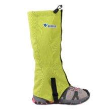 (Green) 2 PCS Outdoors Windproof Leg Binding Waterproof Shoe Gaiters Leg Strap