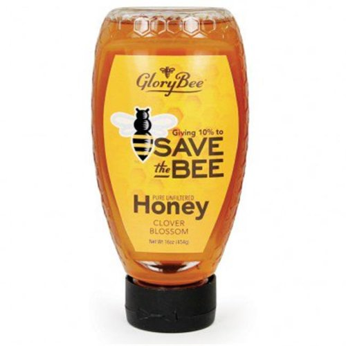 Glory Bee KHFM00302580 Save The Bee Honey - 16 oz