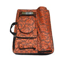 Camouflage Sketching Bag Art Supplies Holder Painting Accessory Organizer-Orange