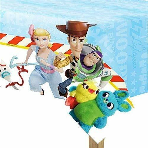 Disney Pixar Toy Story 4 Plastic Table Cover - 120 cm x 180 cm - Party Tableware