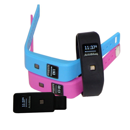 Activ8rlives BuddyBand2 Bluetooth Waterproof Activity & Sleep Tracker