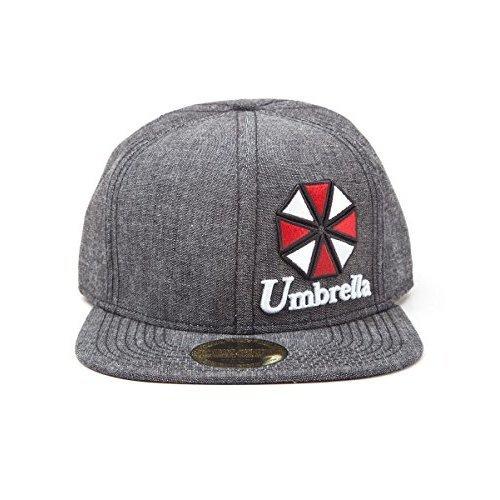 d54d793de0c317 RESIDENT EVIL Unisex Resident Evil - Umbrella Logo Snapback Baseball Cap,  Grey, One size (Manufacturer Size:One Size) (New) on OnBuy