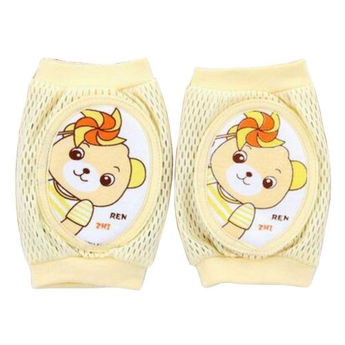 Cute Cotton High Flexibility Baby Leg Warmers Knee Pads/Protect-Bear