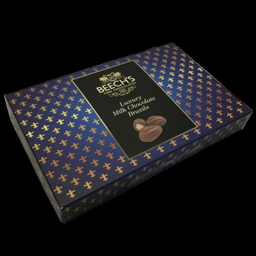 Beechs Luxury Brazils in Milk Chocolate 145g