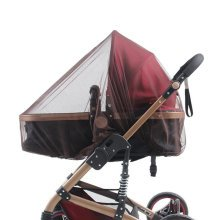 Soft Insect Netting Mosquito Nets for Baby Strollers & Cribs Cover- Brown