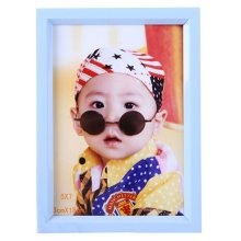 Simple Pure Baby&Kids Picture Frame Photo Frames Plastic Frames,Blue
