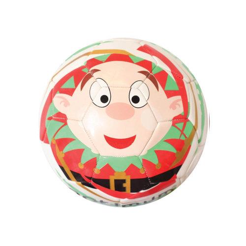 Optimum Christmas Elf Mini Festive Football Soccer Ball White