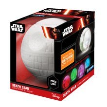 Star Wars Death Star Illumi-mate Colour Changing Light, Plastic, Grey - Light -  star light wars death colour changing illumimates led