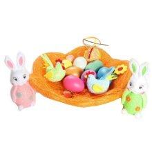 Children DIY Easter Eggs/Plastic/Painting Eggs-(Set of 13)