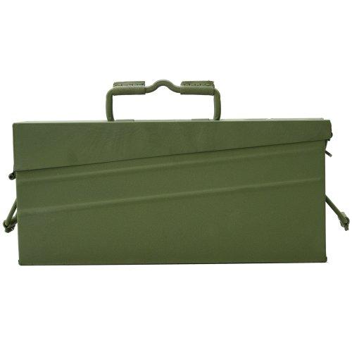 Genuine German Military Mg42 Ammo Metallic Box