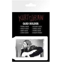 Kurt Cobain Smoking Travel Pass Card Holder
