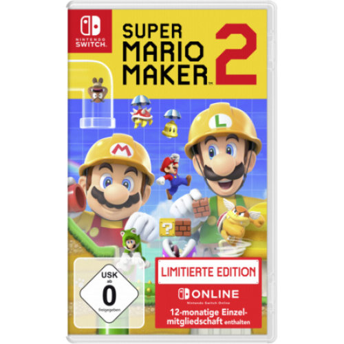 Nintendo Switch Super Mario Maker 2 Limited Edition