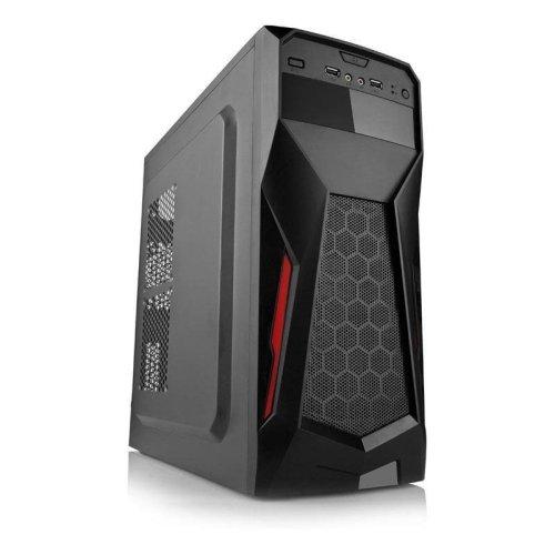 Dynamode GC375 LockStock Series Gaming ATX/M-ATX PC Case - Black (GC375)