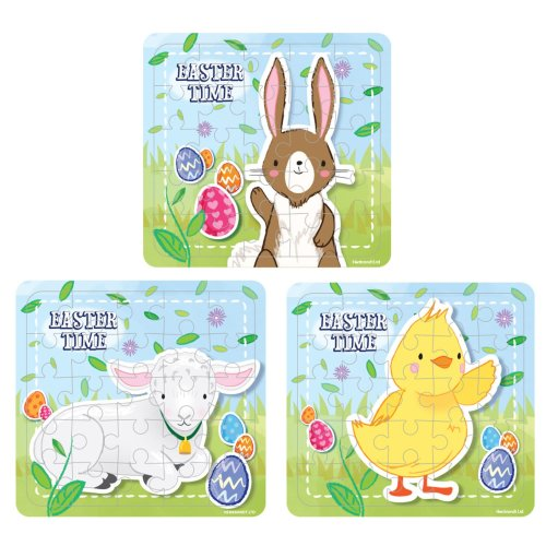 6 Easter Jigsaw Puzzles