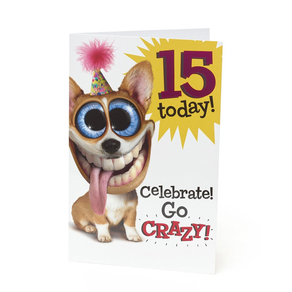 Age 15 Birthday Card