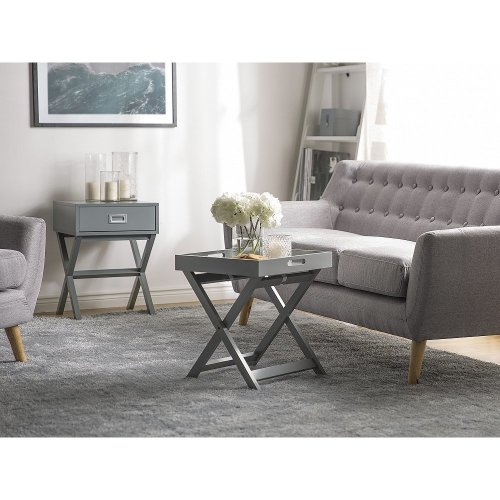 Side Table Grey CHESTER