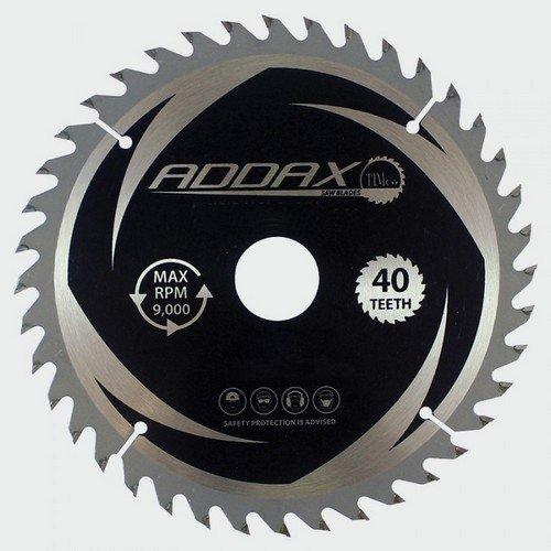 Addax C2303040 TCT Circular Saw Blade 230 x 30 x 40T