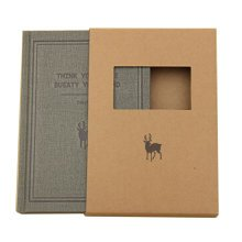 Office Supplies--[Simple Series]Notepad/Notebook/Jotter,GRAY (14.5*20.5CM)