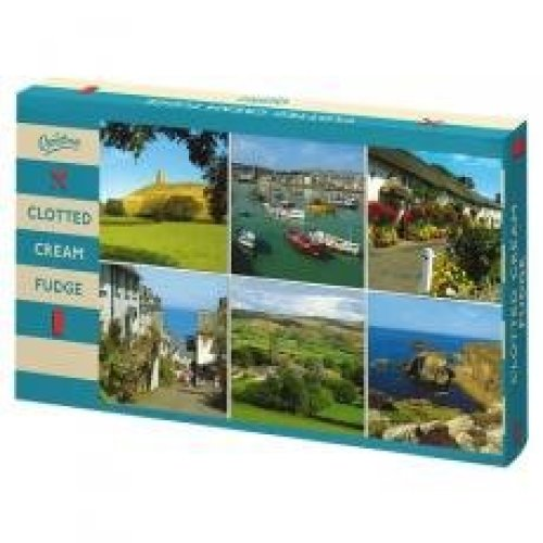 Bristows Clotted Cream Fudge Post Card Carton 150g (Pack of 10)