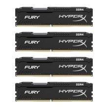 Kingston HyperX Fury 64Gb (4x16Gb) DDR4 2400MHz CL15 Kit