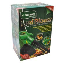 Garden Leaves Blower And Vacuum - Leaf 2600w Electric Grass Kingfisher Hedge -  garden blower leaf vacuum 2600w electric grass kingfisher hedge