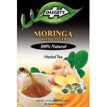 DALGETY MORINGA with GINGER HERBAL TEA - 20 TeaBags