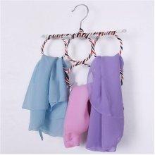Storage Holder Circle Hanger Rack Scarves Home Shawls Neckties Belt Organizer