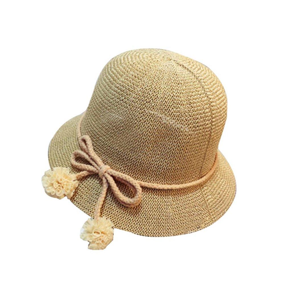 9cfcd829280 Baby Hat Child Cute Straw Hat Visor Sun Hat Beach Hat  A-1  on OnBuy