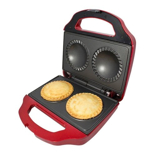 Gourmet Gadgetry electric double pie maker deep fill non stick 700w
