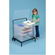 20 Shelf Spring Loaded Art Drying Rack (A1167)
